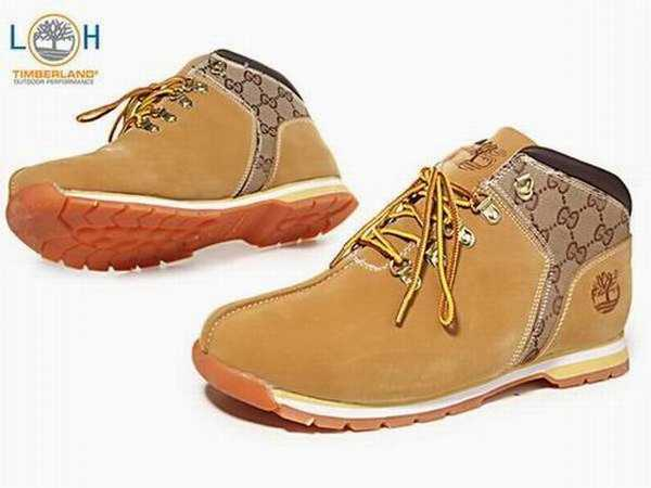 timberland chaussure entretien
