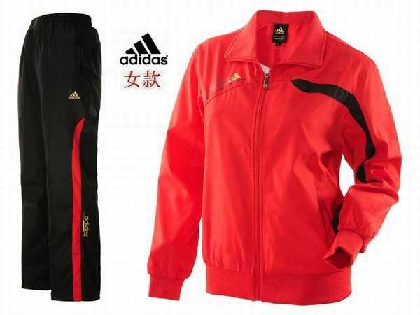 Survetement survetement Budo Adidas Mao Col Fluo Rose dCBoWerx